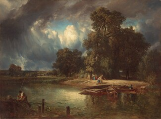 Constant Troyon, The Approaching Storm, 18491849