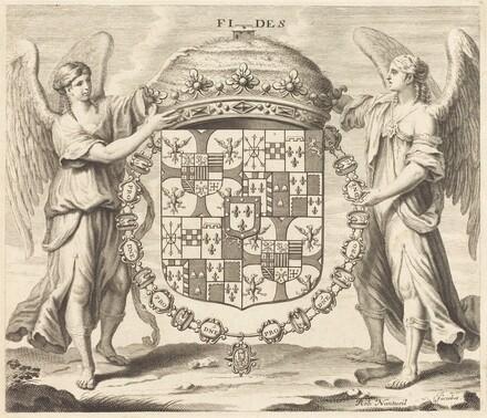 Arms of Charles II, Duc de Mantoue