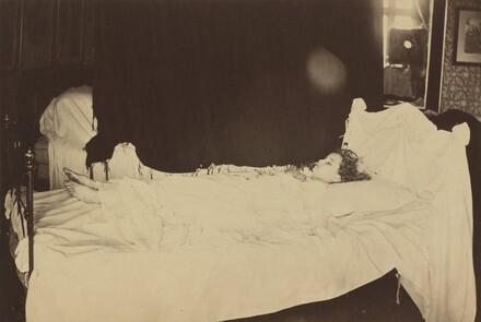 Deathbed Study of Adeline Grace Clogstoun