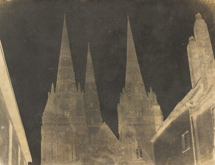 Study of the Spires of Lichfield Cathedral