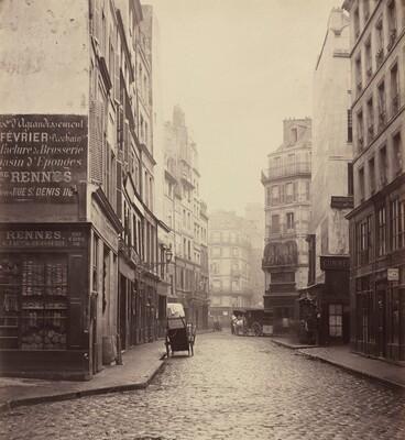 Rue des Lombards, from the rue des Lavandières Sainte-Opportune