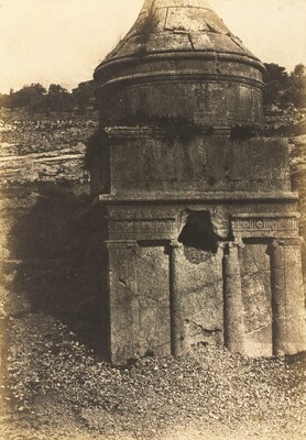 Absalom's Tomb, Valley of Kidron, Jerusalem