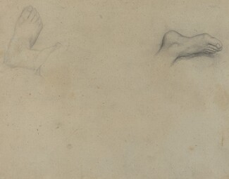 Studies of Feet [verso]