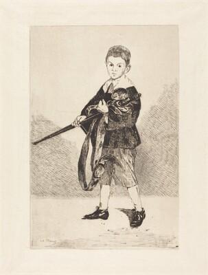Child with Sword, Turned to the Left (L'Enfant à l'épée, tourné à gauche)