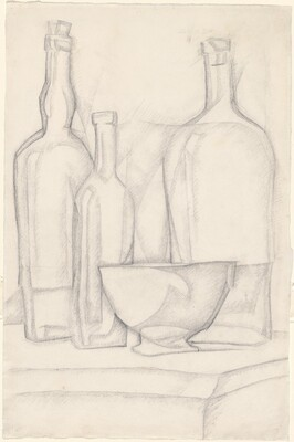 Bottles and Bowl