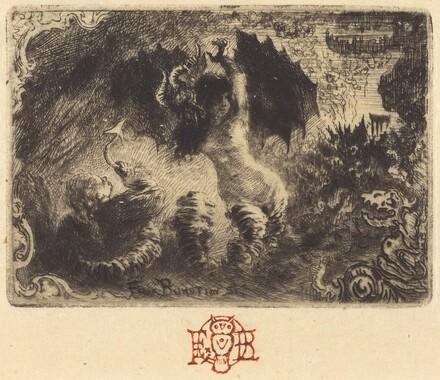 Jacques Cazotte's Le Diable amoureux (1st vignette)