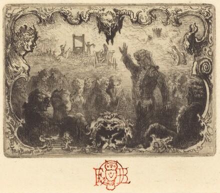 Jacques Cazotte's Le Diable amoureux (3rd vignette)