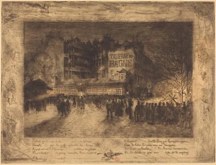 La Place des Martyrs et La Taverne du Bagne (The Place des Martyrs and the Jailhouse Tavern)