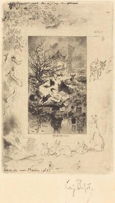 Title Page for Lettres de Mon Moulin
