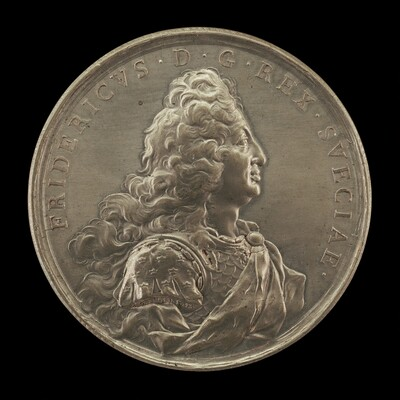 Frederick I, 1676-1751, King of Sweden 1720 [obverse]