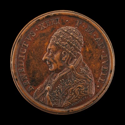 Benedict XIII (Piero Francesco Orsini, 1649-1730), Pope 1724 [obverse]