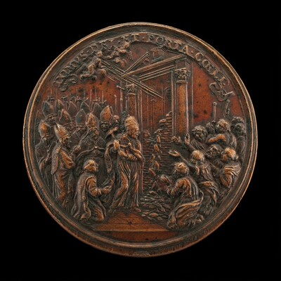 Opening of the Holy Door for the Jubilee [reverse]