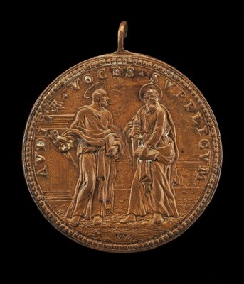 Saint Peter and Saint Paul [reverse]