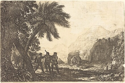 Landscape with Brigands (Scène de brigands)