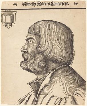 Erhard Schön, Albrecht Dürer at Age Fifty-Six, c. 1528c. 1528