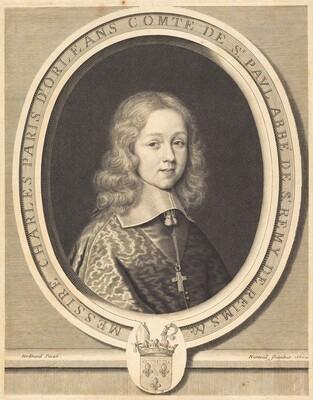 Charles-Paris d'Orléans-Longueville, Comte de Saint-Pol
