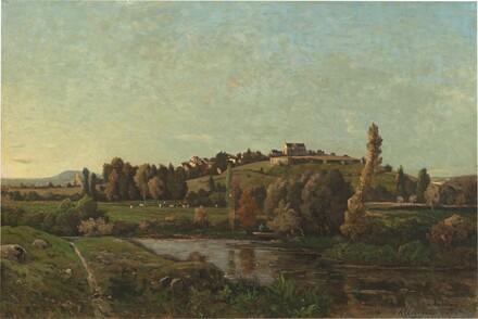 Landscape in Auvergne