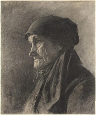 An Elderly Peasant Woman