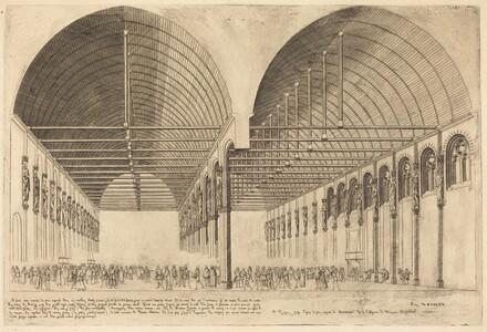 La salle des pas-perdus à l'ancien Palais-de-Justice, Paris (The Antechamber of the Palace of Justice, Paris)
