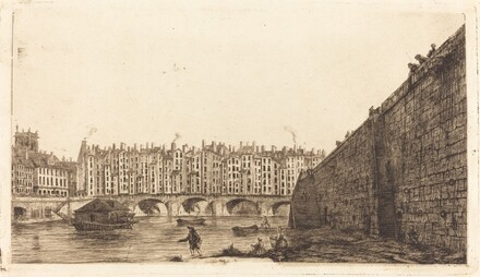 Le Pont-au-Change, Paris, vers 1784