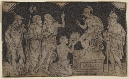 Artaxerxes Receiving the Head of Cyrus
