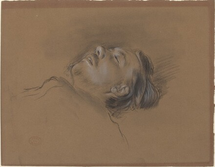 Head of the Fallen Jockey (study for Scene from the Steeplechase: The Fallen Jockey)