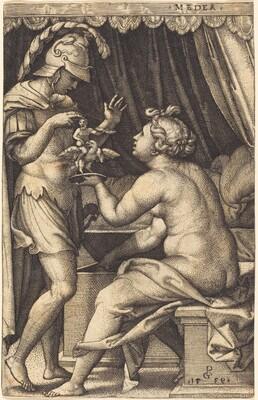 Medea Returning the Penates to Jason
