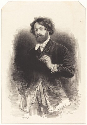 Self-Portrait with a Cigarette