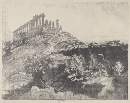 The Temple of Concord on the Wall, Girgenti