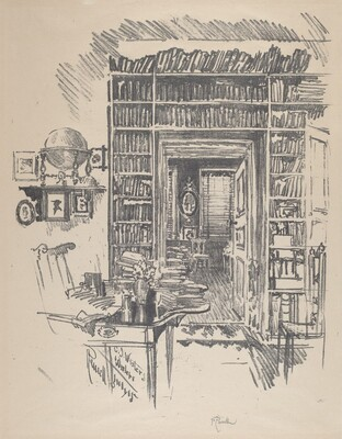 Book-Room at Dr. Wister's