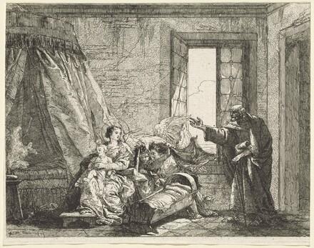 Joseph Relays to Mary God's Command to Flee