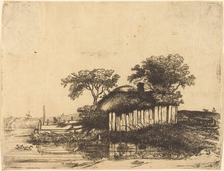 Cottage with White Paling