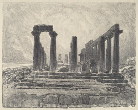 Columns of the Temple of Juno, Girgenti