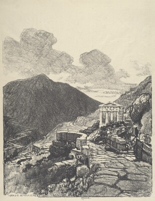 The Treasury of Athens, Delphi