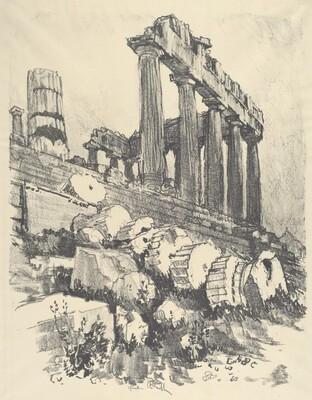The Fallen Column, Athens