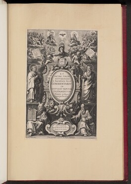 Title Page for R.P. Jacobi Tirini's