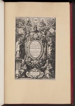 Title Page for R.P. Jacobi Tirini's