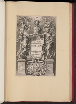 Title Page for Frederik de Marselaer, Legatvs