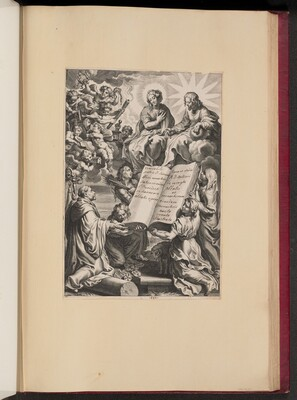 Title Page for Ludovicus Blosius, Opera