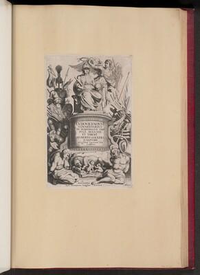 Title Page for Ludovicus Nonnius, Commentarius in Nomismata