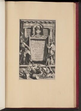 Title Page for Franciscus van Haer, Annales Ducum seu Principum Brabantiae, III
