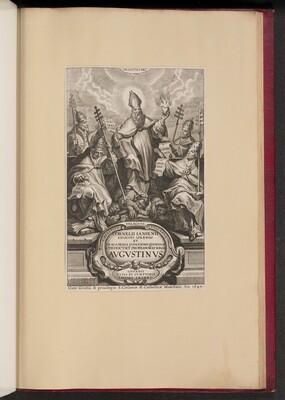 Title Page for Cornelii Iansenii ... Avgvstinvs