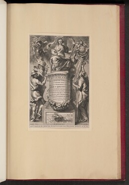 Title Page for Liutprand, Opera