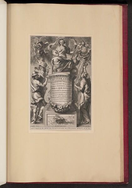 Title Page for Liutprand, Opera