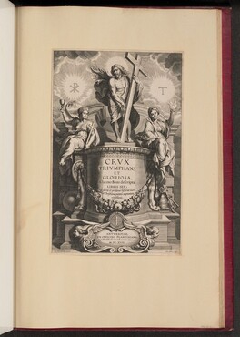 Title Page for Giacomo Bosio, Crux Triumphans et Gloriosa