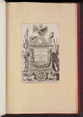 Title Page for Hubert Goltzius, Graeciae Vniversae Asiaeq. Minoris et Insularum Nomismata