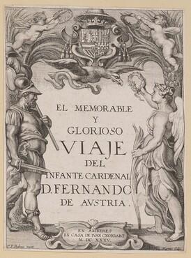 Title Page for D. De Aedo y Gallert, El...Viaje del Infante Cardenal...