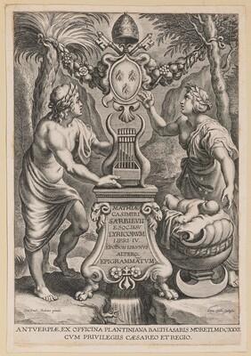 Title Page for M.C. Sarbievski, Lyricorum Libri IV