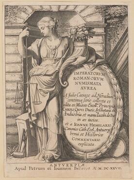 Title Page for Imperatorvm Romanorvm Nvmismata Avrea