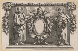 Vignette for a Book Dedicated to Pope Urban VII